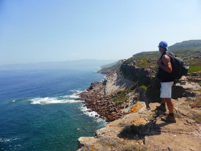 Trekking,sardegna,portoscuso.