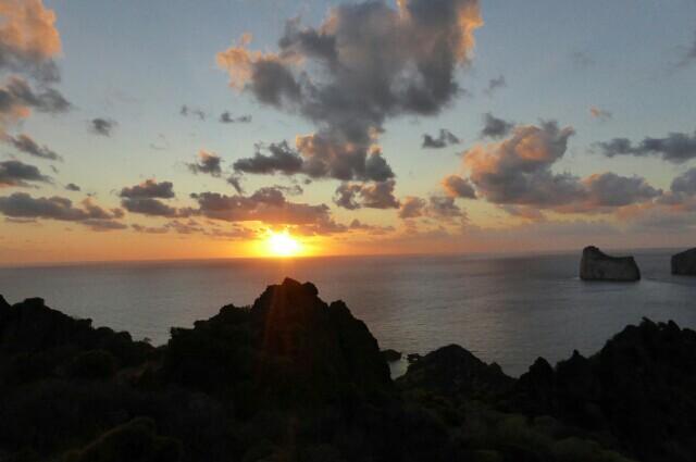 Sunset,Nebida,Sardinia,Iglesias
