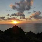 Sunset at Nebida, Sardinia.