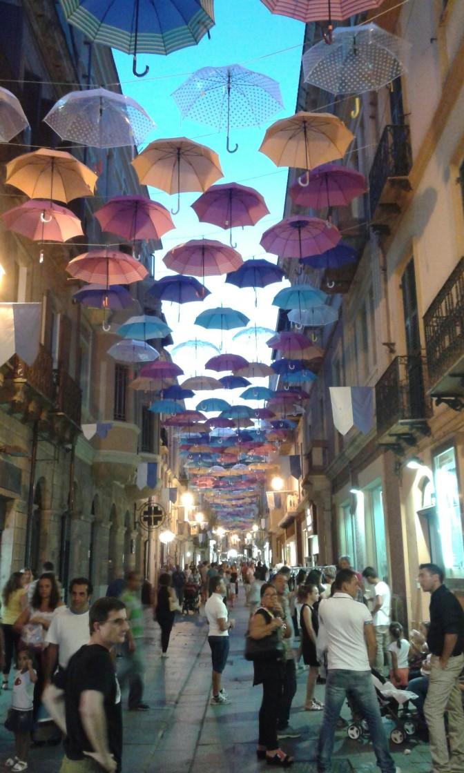 Iglesias, Sardegna, umbrellas, sun, holiday
