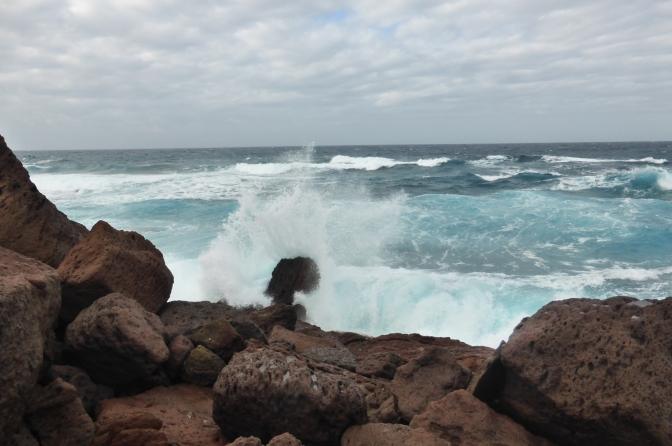 Wild sea at Porto Paglia, Sardegna.