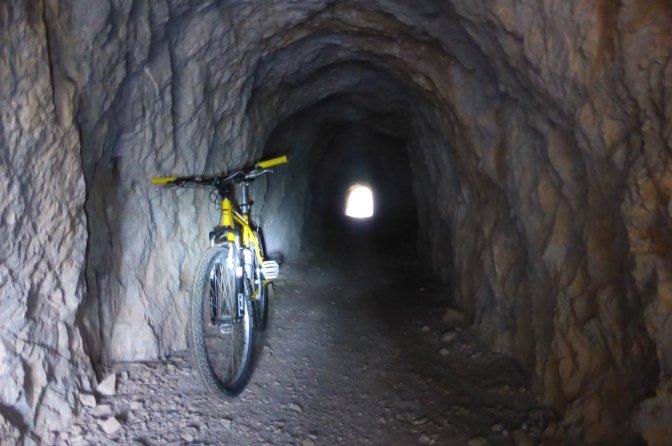 Mining, tunnels, mines, Sardegna, mountain biking, trekking
