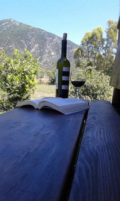 Sardegna, Italia, wine, book, relax