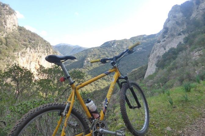Mountain bike, trails, Sardegna, mines