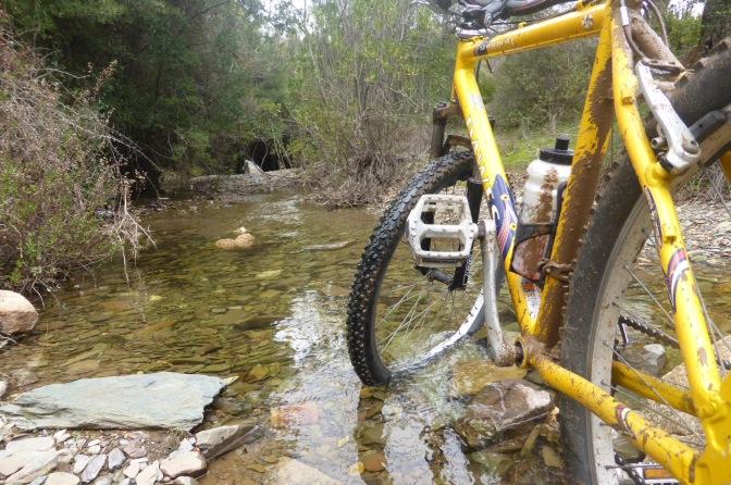 mountainbiking,river,stream,travel,sardinia