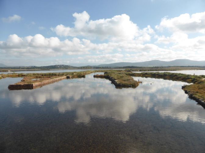Is Solinas,lagoon,laguna,sardegna