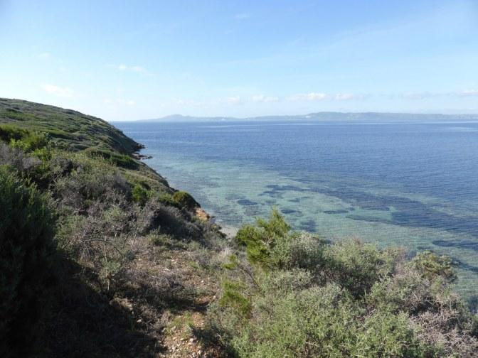 is solinas, porto pino,trekking