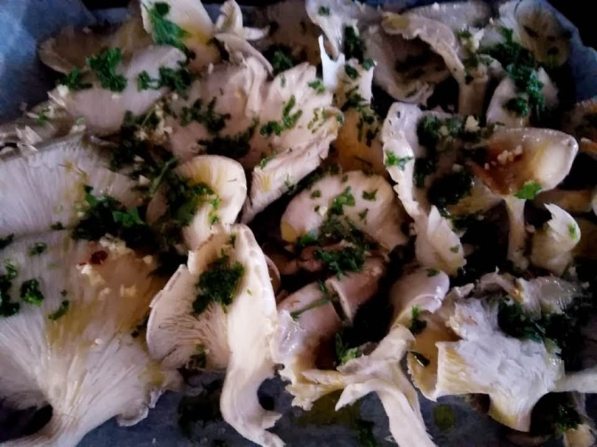 Mediterranean,food,mushrooms