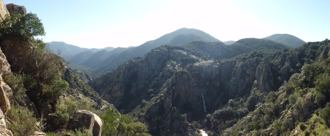Cascata Piscina Irgas. waterfall, villacidro