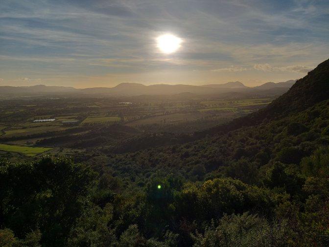 Trekking cottage, sunset, Sardegna