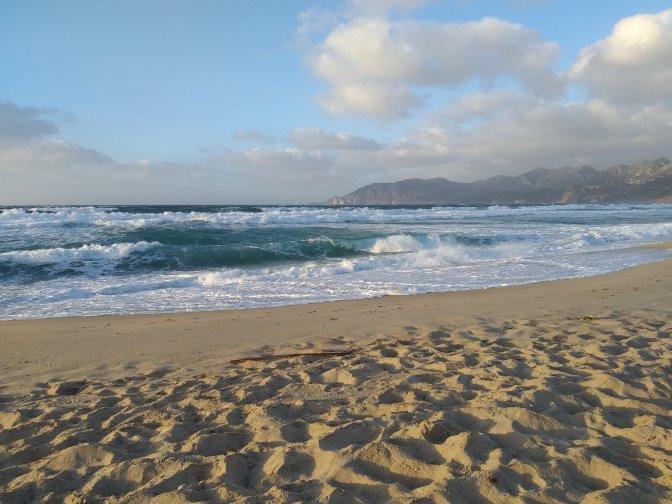 Porto Paglia beach Sardegna