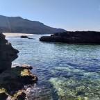 Protected beach of Scivu, Sardinia.