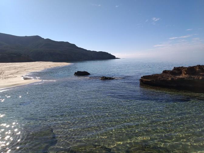 Scivu,beach,Sardegna,trekking