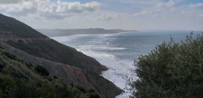 Sardinia,nebida,coast,surf