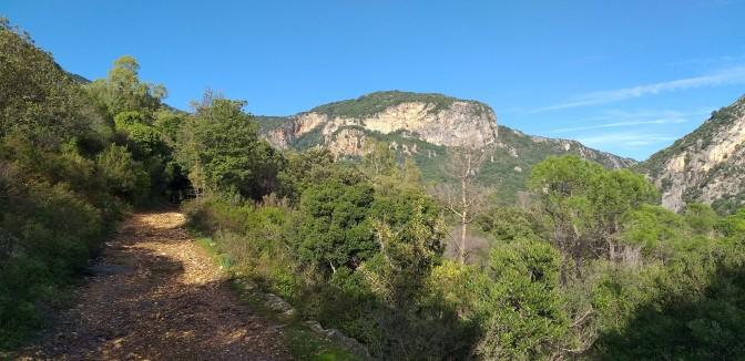 trekking,sardinia
